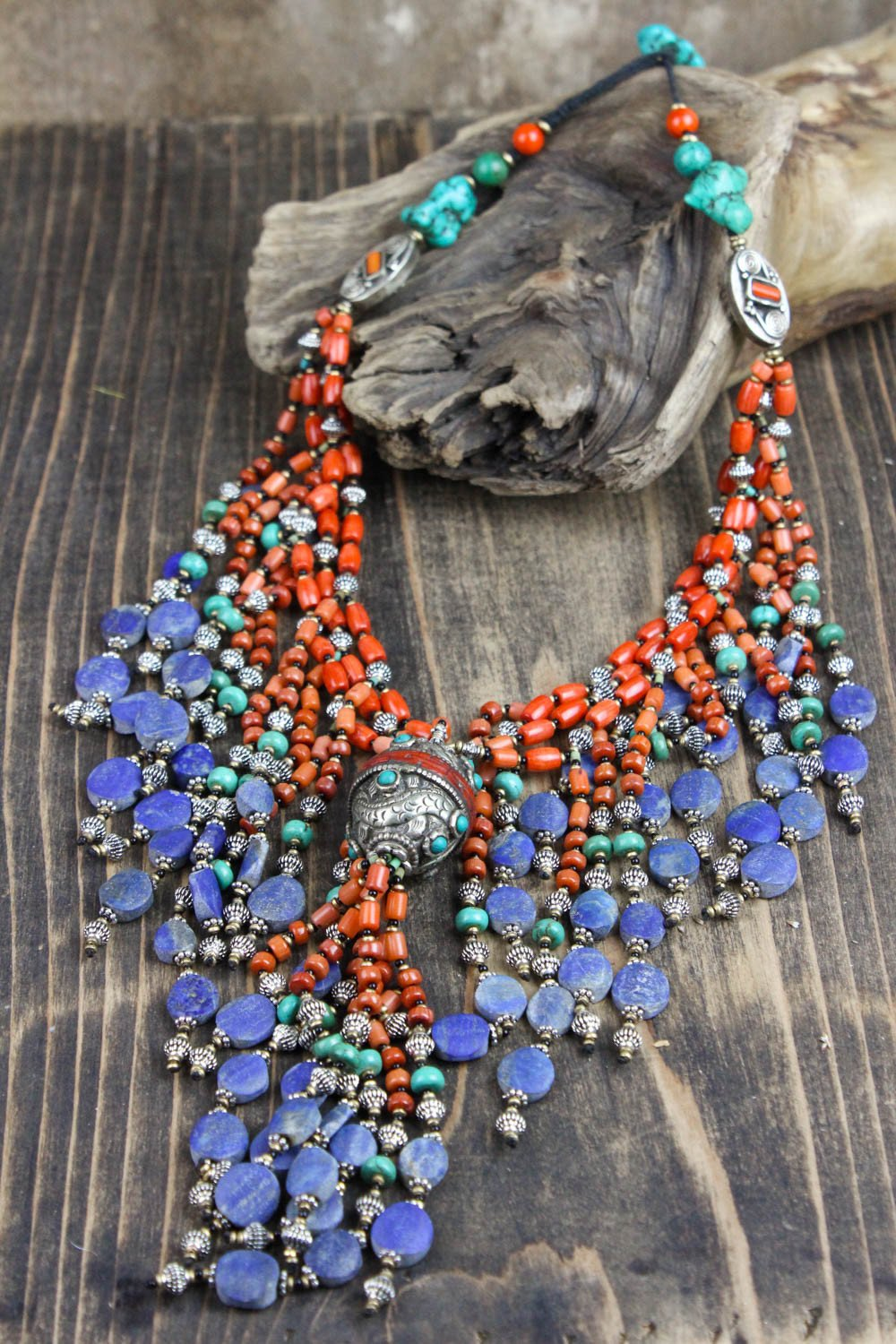 Tibetan Necklace of Deep Reflection