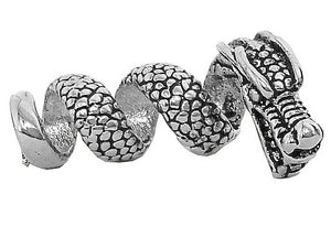 New! Imperial Dragon Hair Bead - Silver - Regular