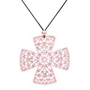 Lacey RG Cross Necklace
