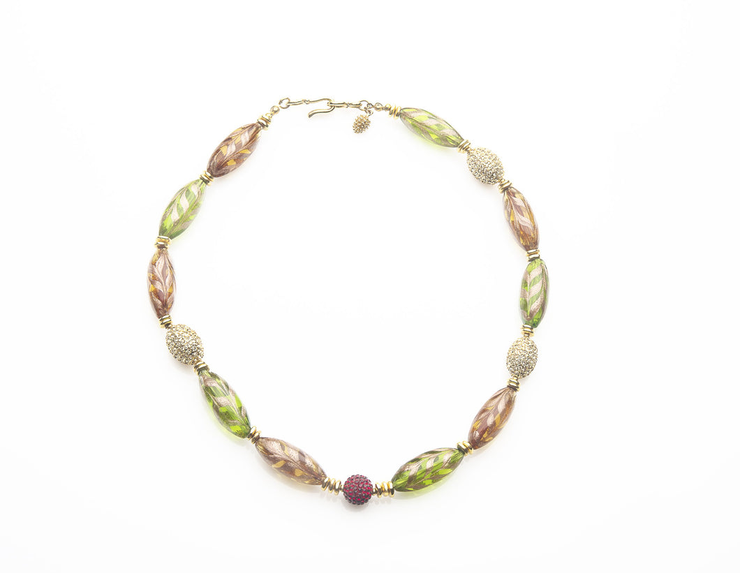 MURANO NECKLACE CIRA