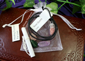 GEMSTONE CRYSTAL HEALING PACK SET~For Love