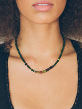 Load image into Gallery viewer, Geo Stone Necklace