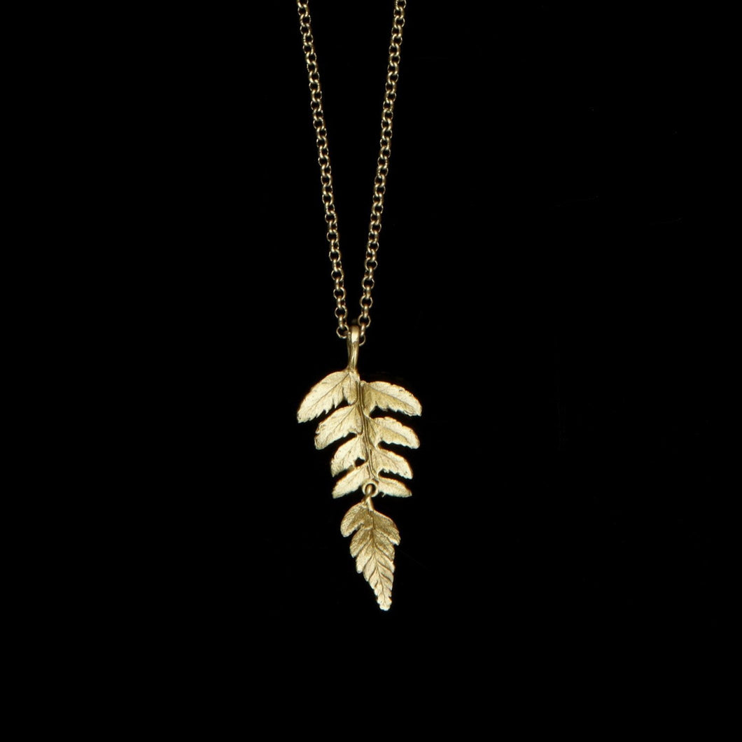 Michael Michaud Fern Necklace - Pendant 18