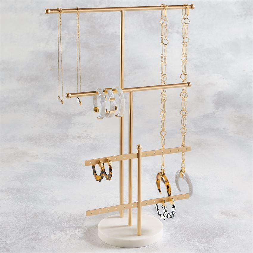 Gold Jewelry Display
