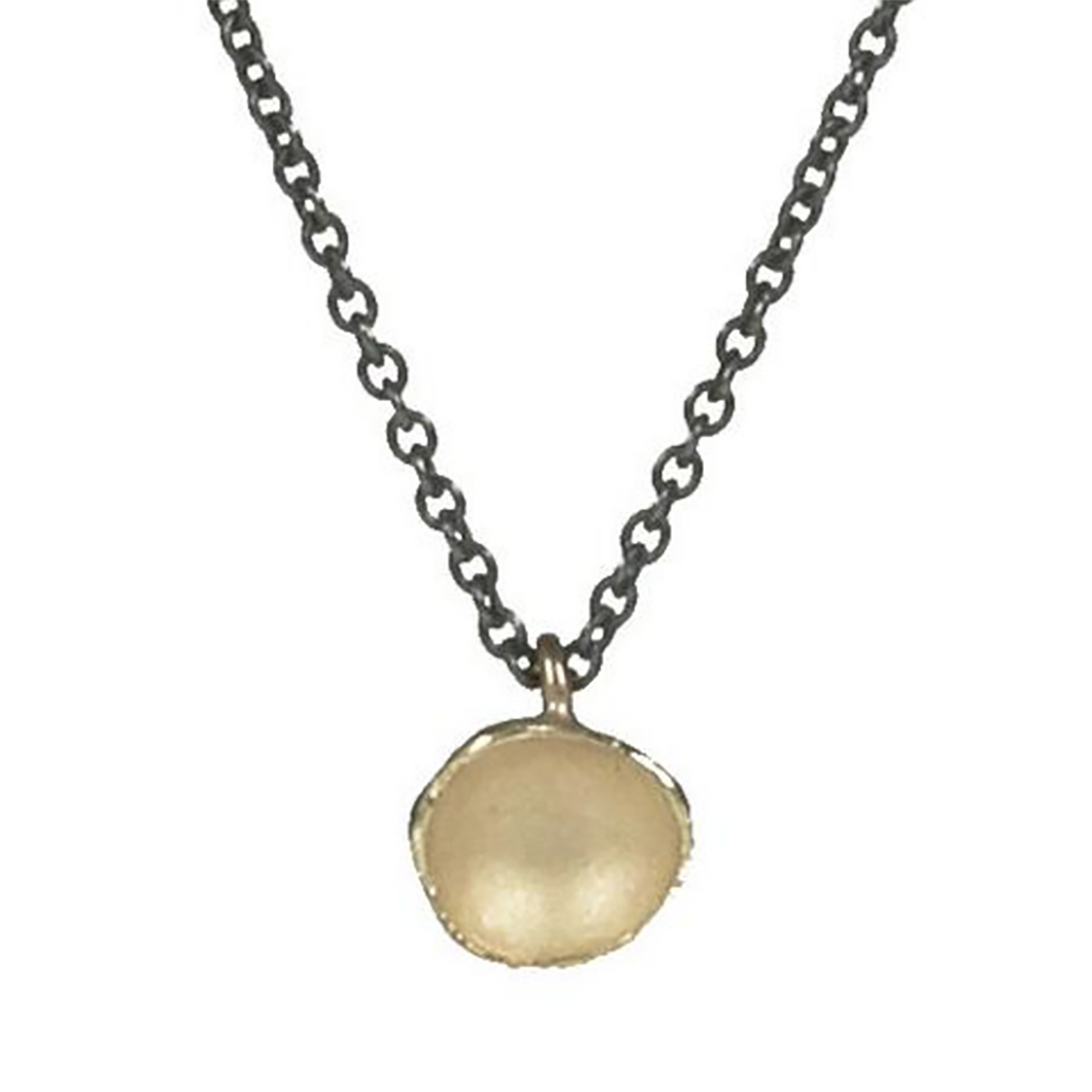 NEW! Large Single Pod Necklace in 18k Gold Vermeil by Sarah Richardson