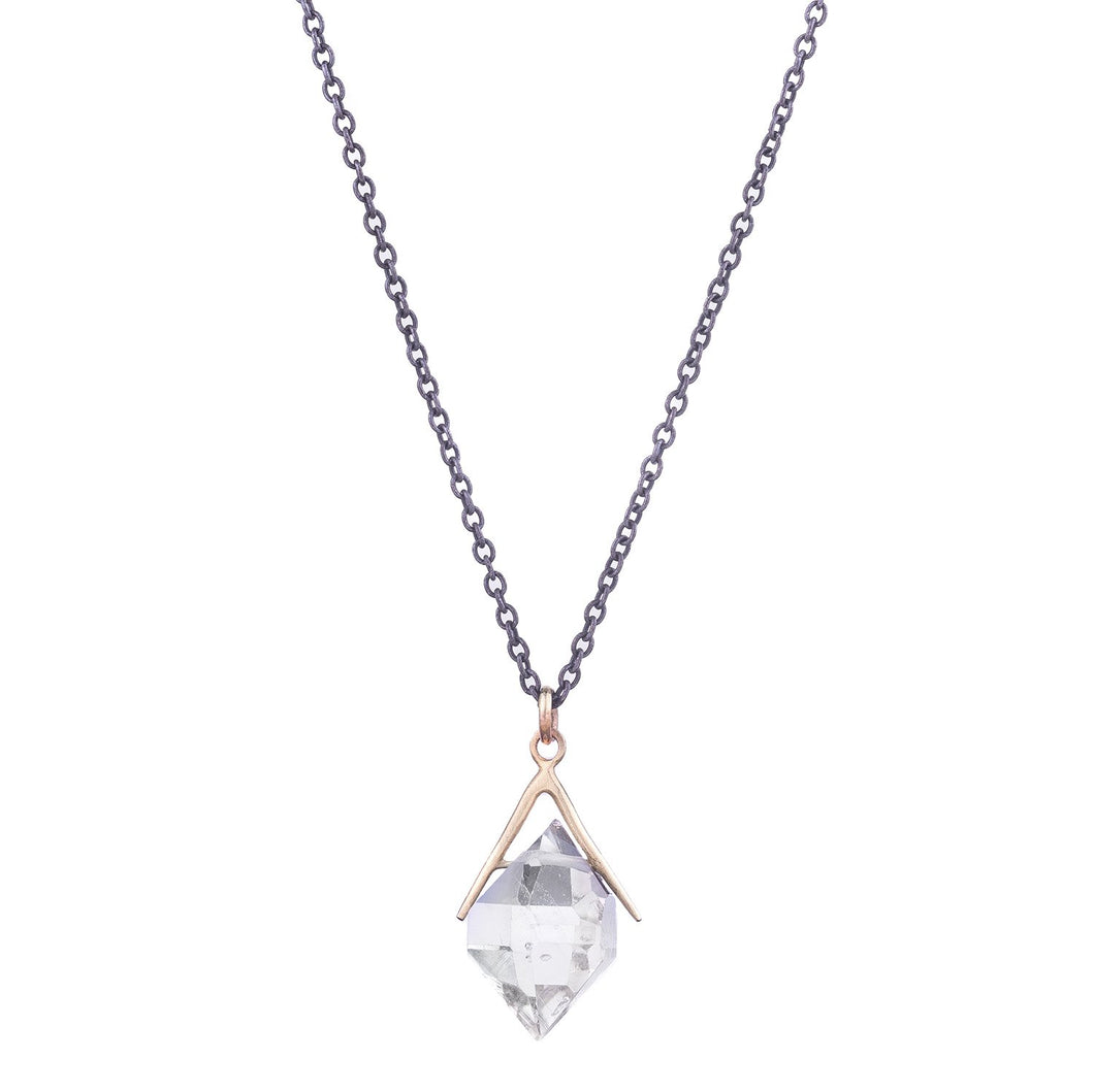 NEW! Medium Stick and Stones Herkimer Diamond Necklace by Hannah Blount