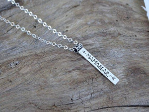 name necklace, personalized jewelry, custom name necklace, personalized, custom name, bridesmaid gift, custom necklace, bar necklace