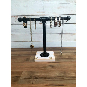 Jewelry stand- industrial jewelry stand