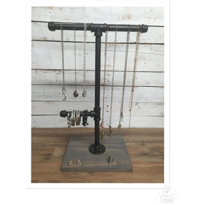 Rustic Jewelry holder-Rustic Jewelry Stand