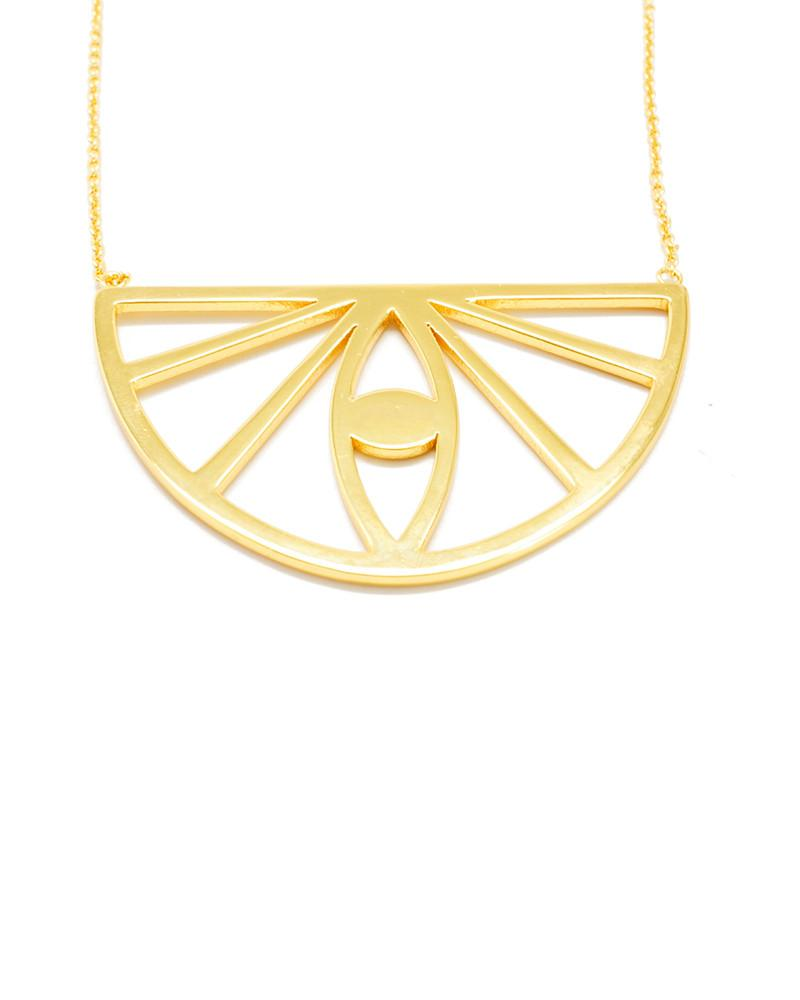 Joyiia | Gold Evil Eye Necklace