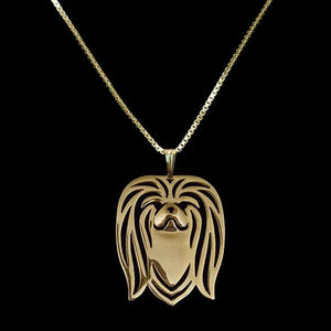 Pekingese dog necklace