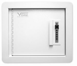V-Line 41214-S Quick Vault In-Wall Pistol Safe
