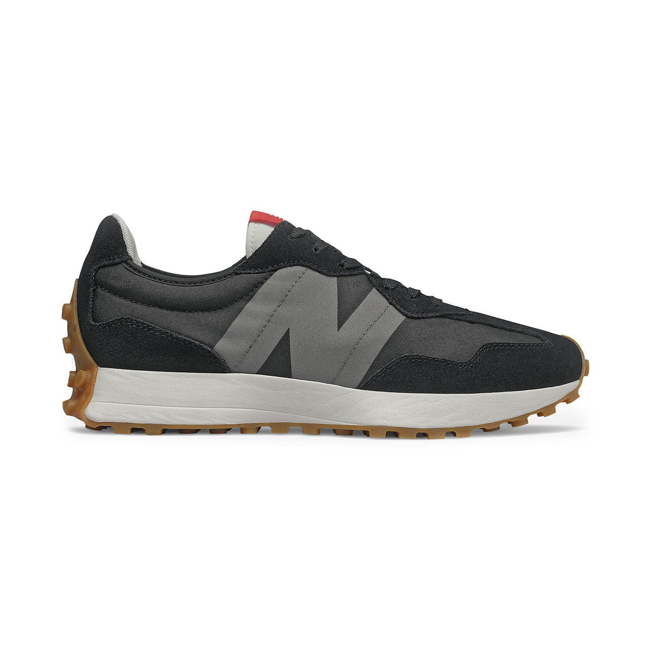 New Balance 327 Black Castlerock Sneakers