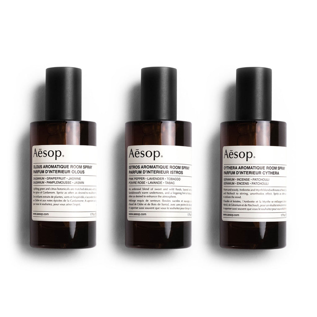 Aesop Room Spray Trio