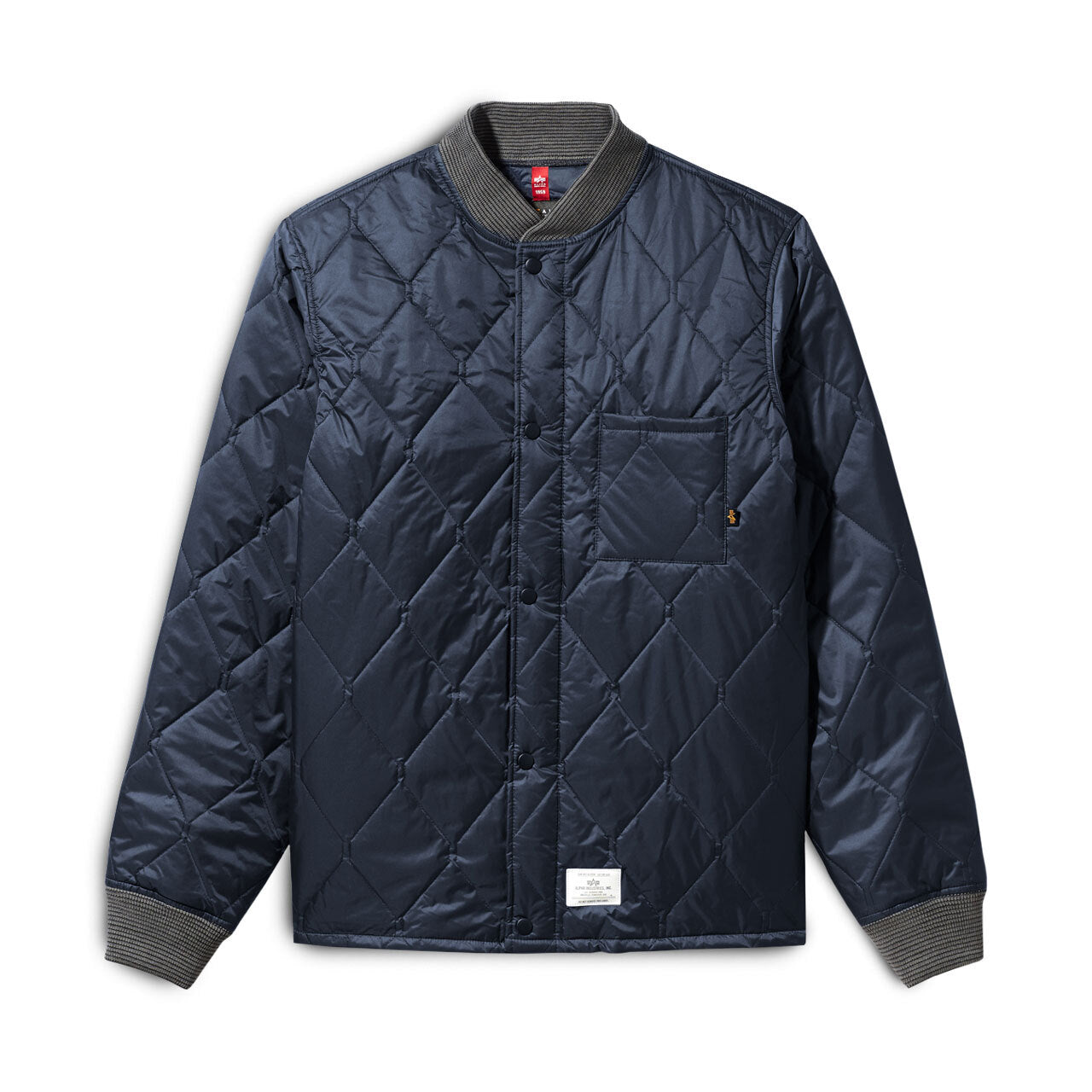 Alpha Industries Quilted Utility Jacket