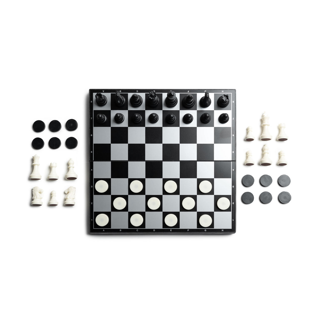 Basecamp Magnetic Chess & Checkers
