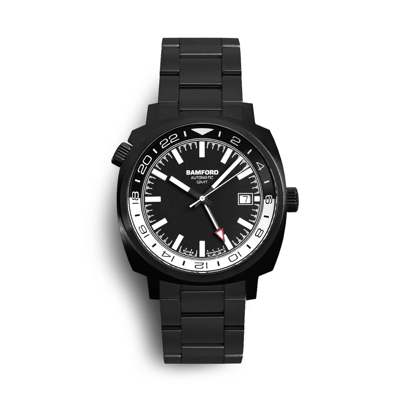 Bamford Two-Tone GMT Watch