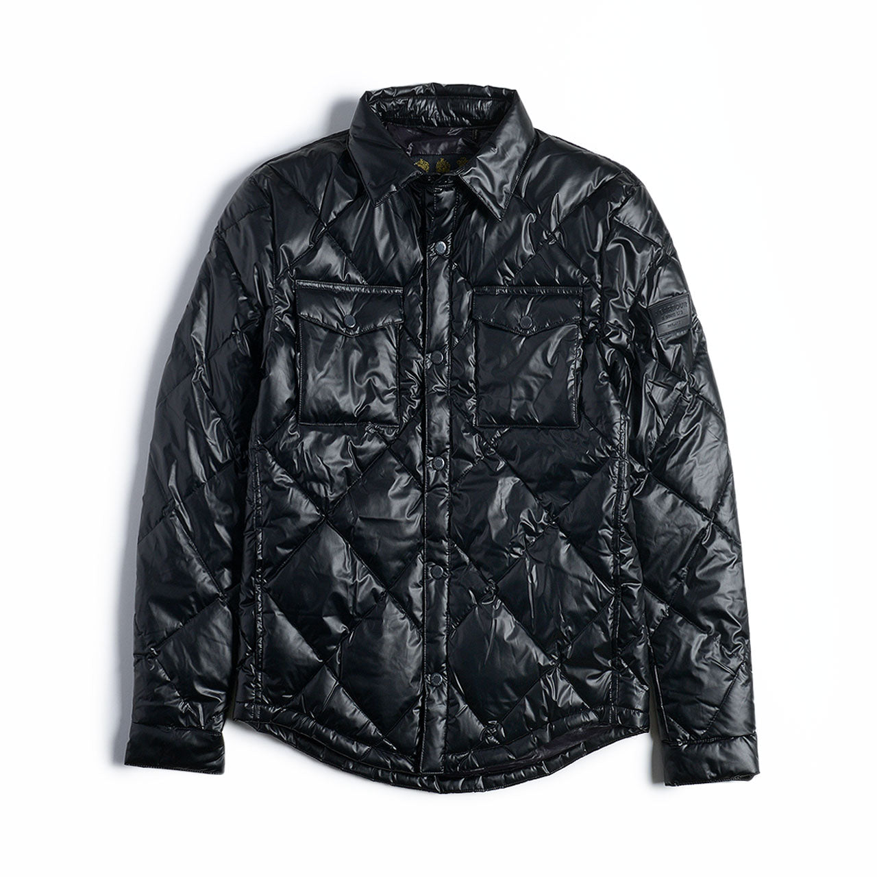 Barbour Gold Standard CPO Quilted Shirt Jacket