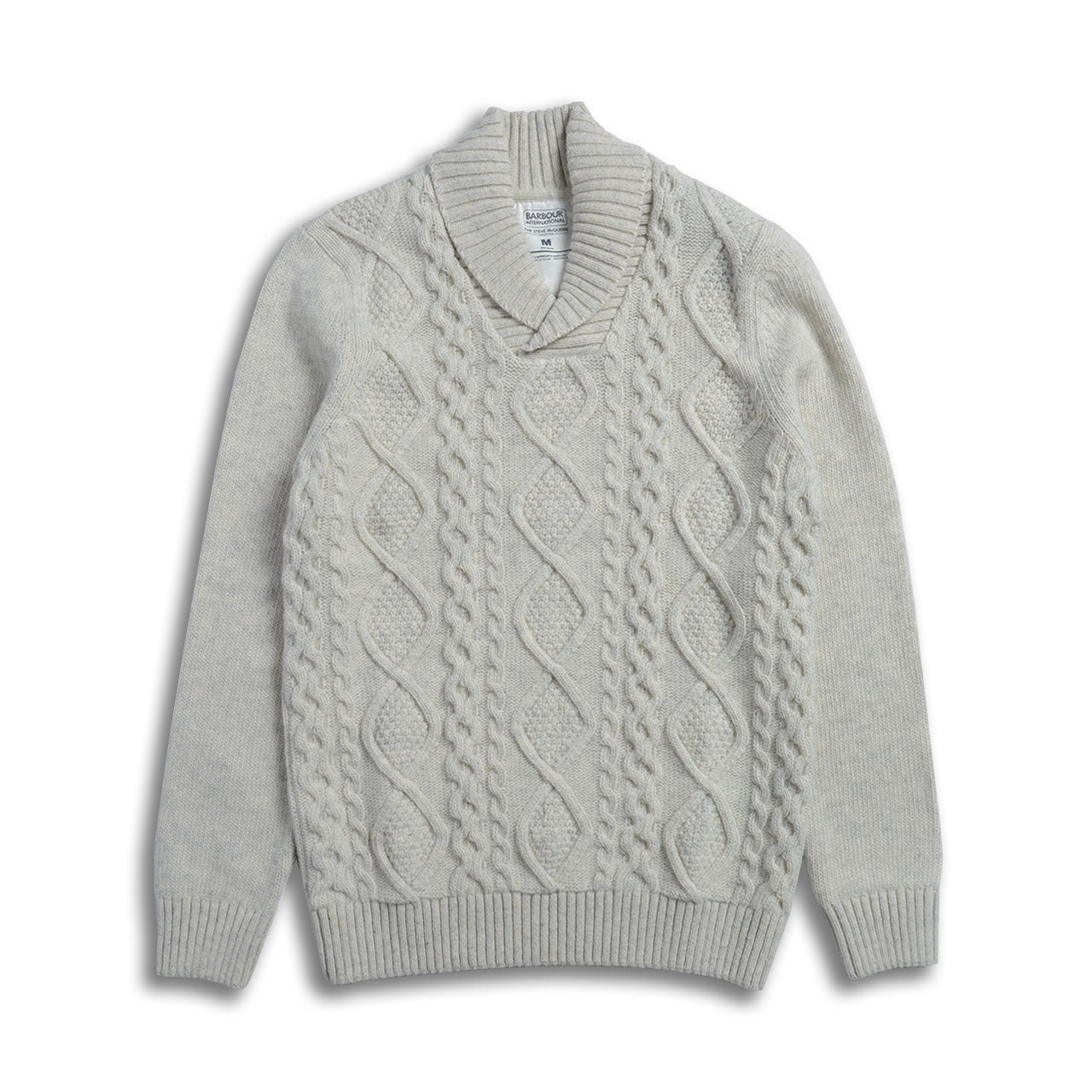 Barbour International Steve McQueen Cable Sweater