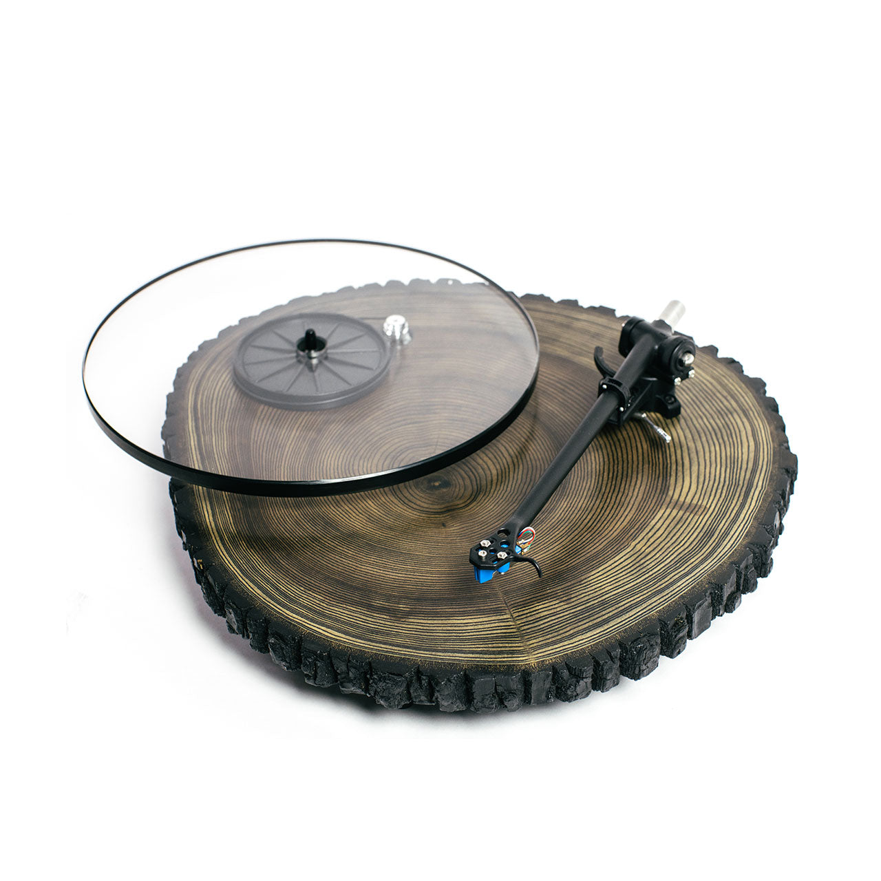 Audiowood x Uncrate Barky Turntable
