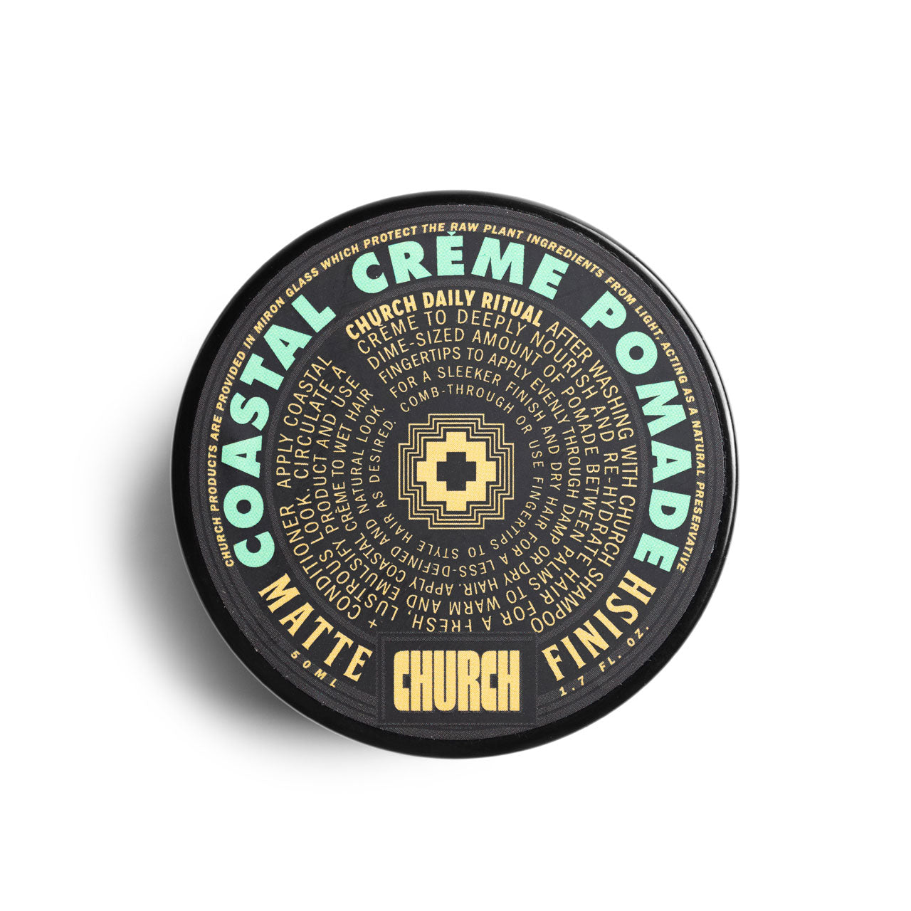 Church California Coastal Creme Pomade
