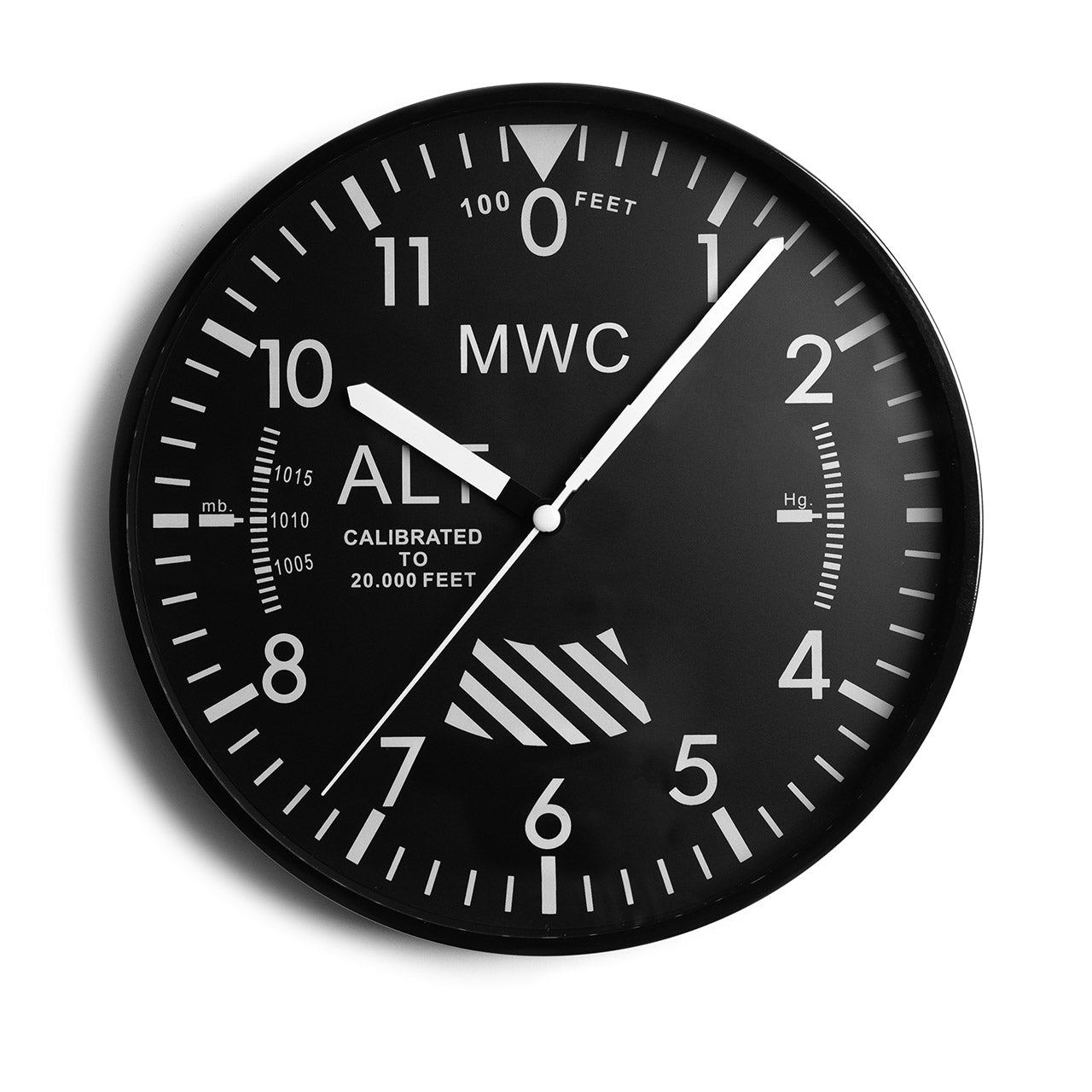 Military Altimeter Wall Clock