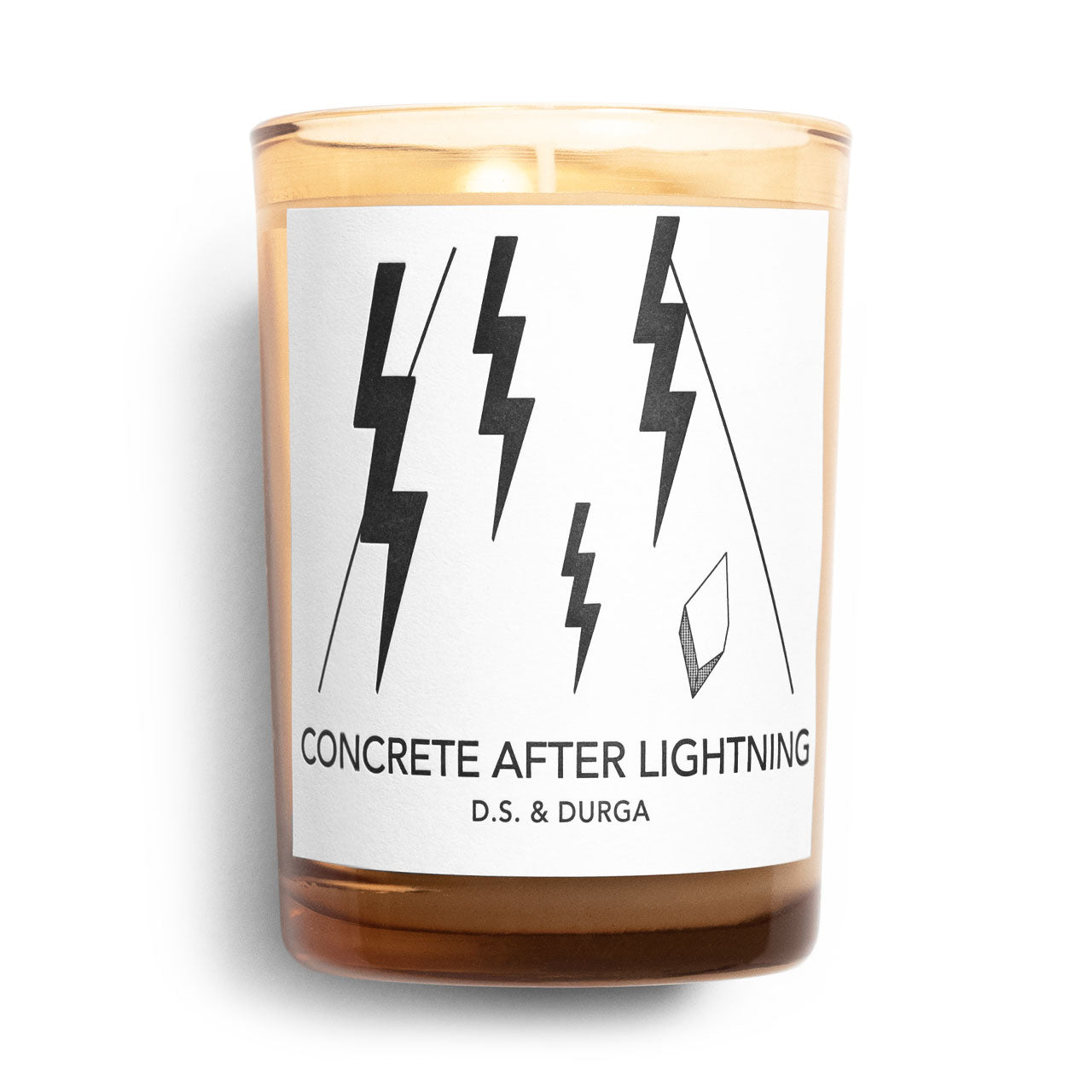 D.S. & Durga Concrete After Lightning Candle