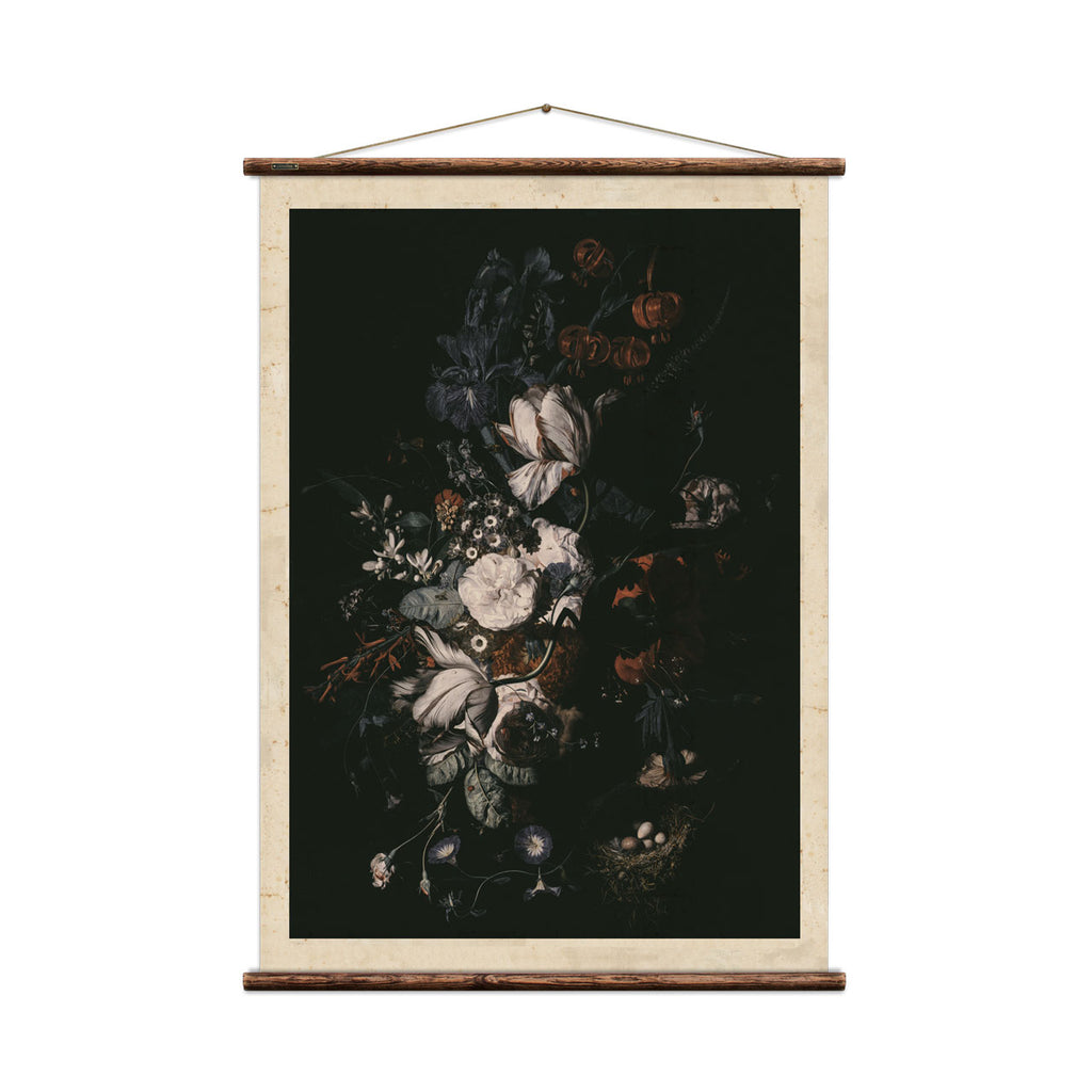 Flowers with Nest Print