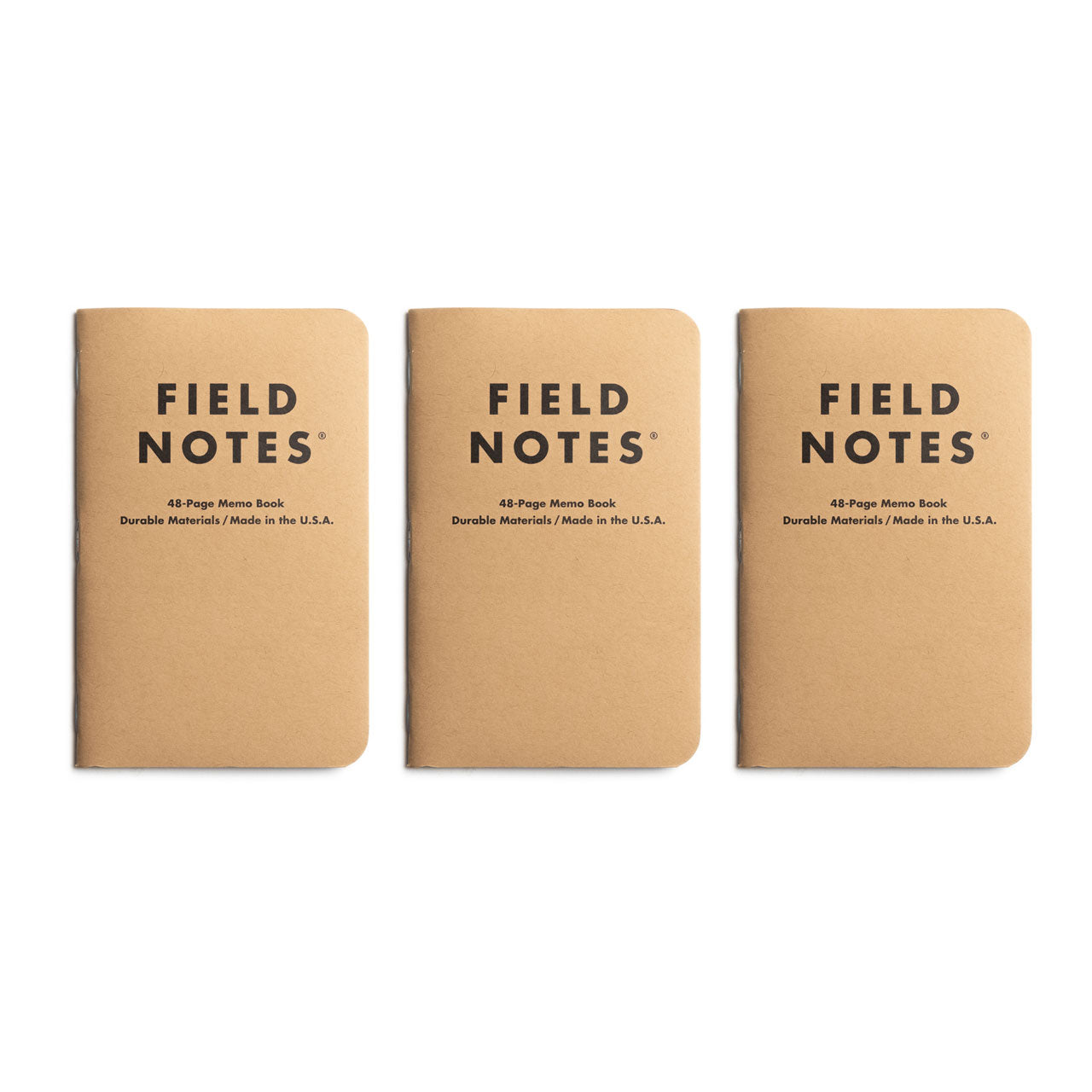 Field Notes Original Kraft Memo Notebooks