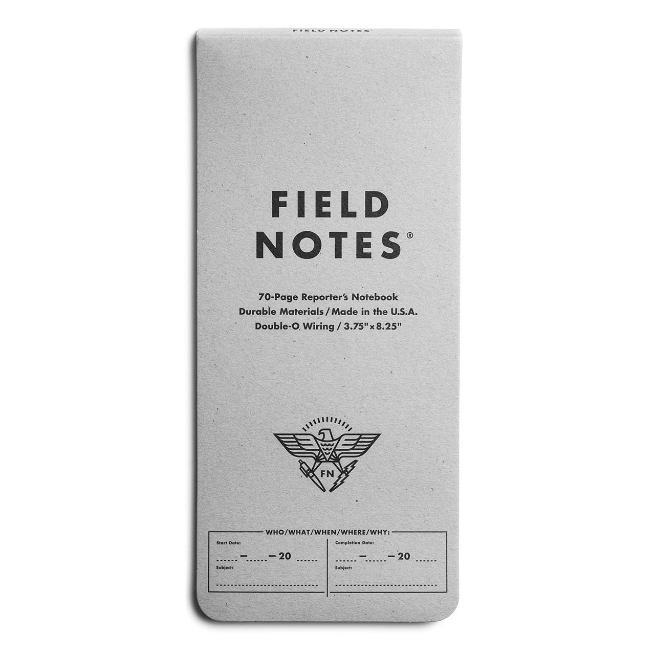 Field Notes Reporter's Notebook