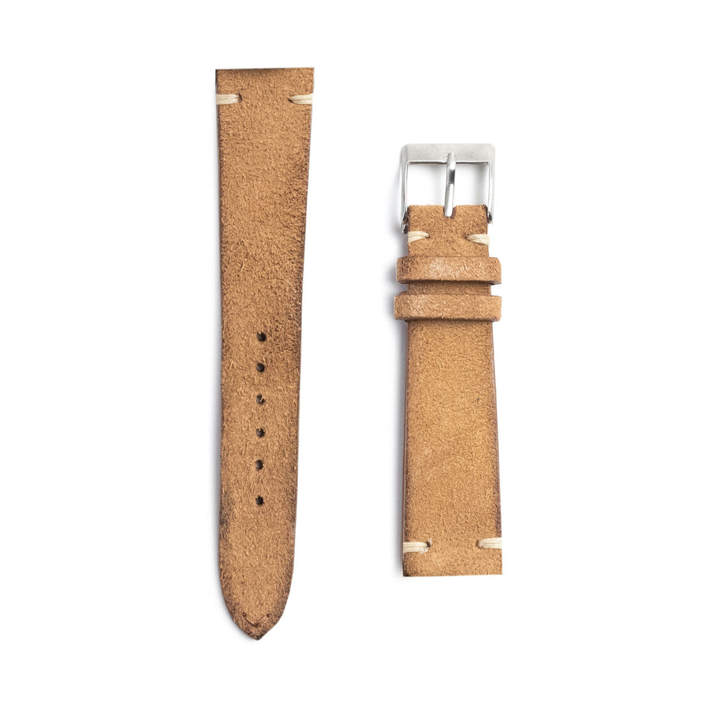Tan Suede Watch Strap