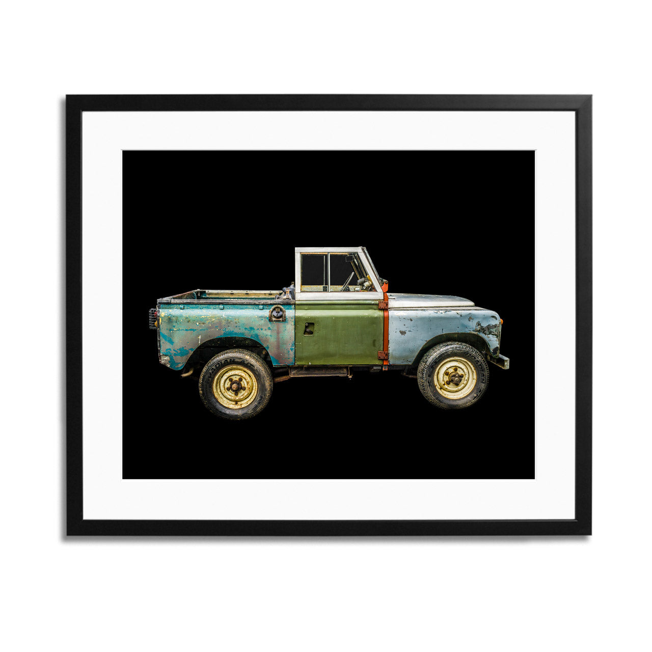 Land Rover Series II A Side View Framed Print