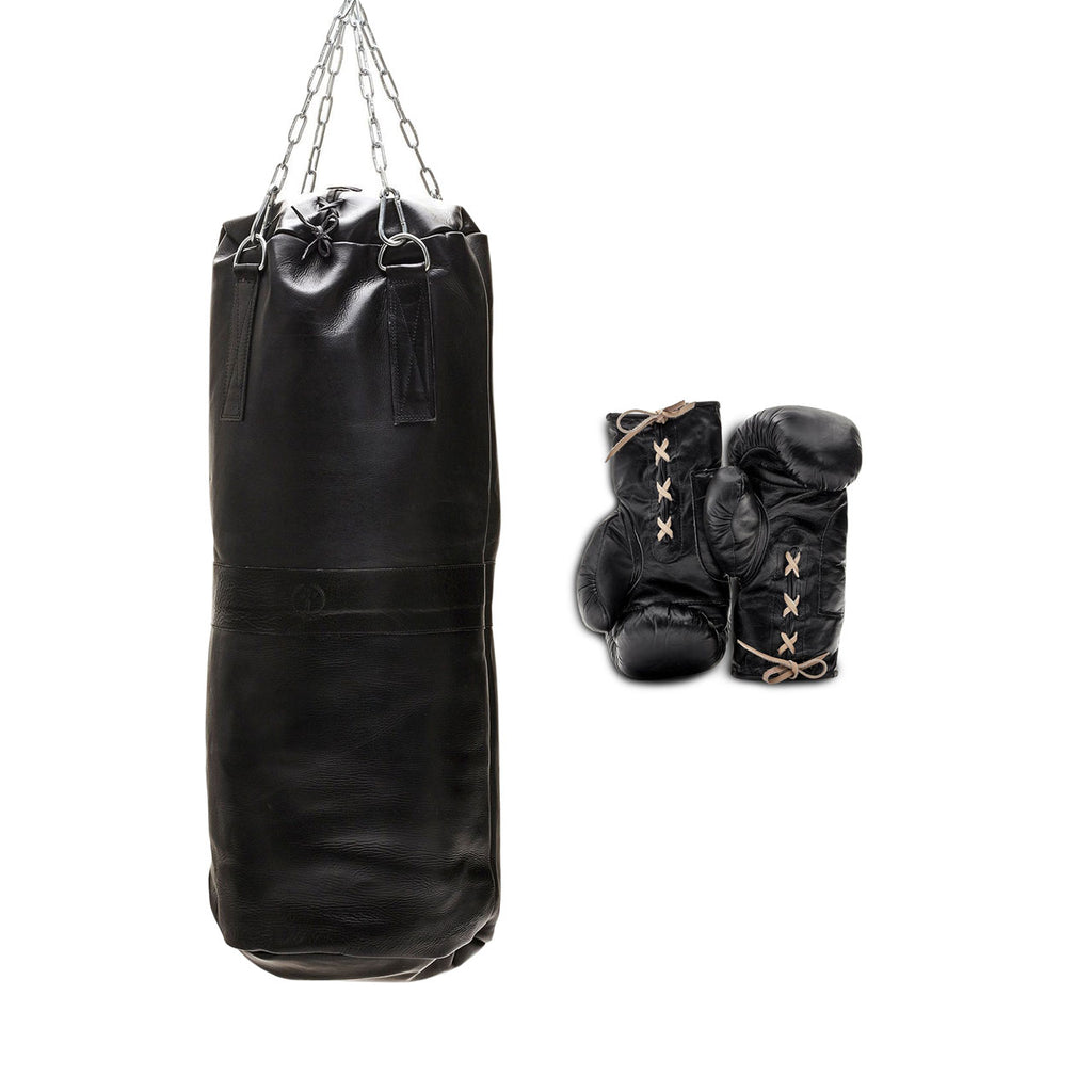 Leather Boxing Set