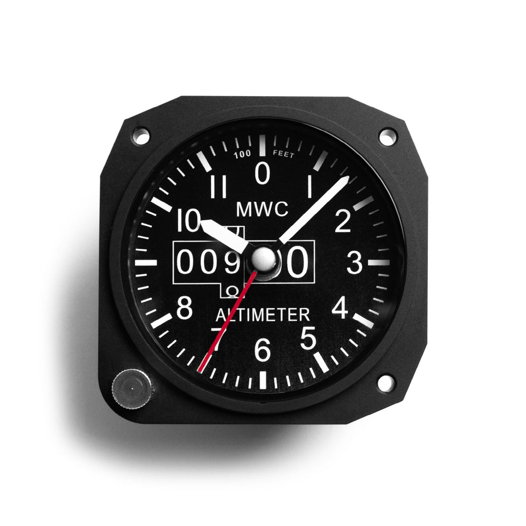 Military Altimeter Desk Clock