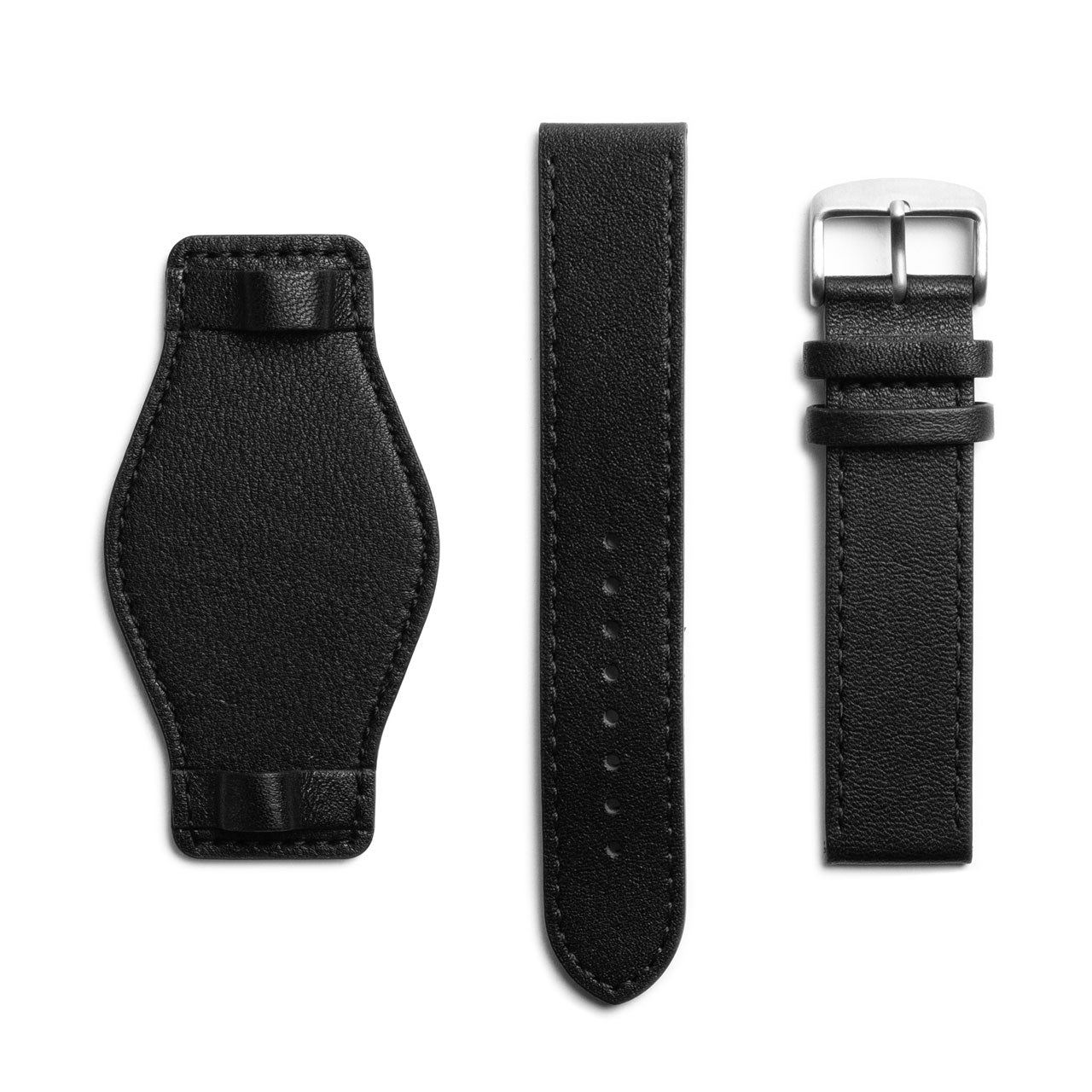 Bund Leather Watch Strap