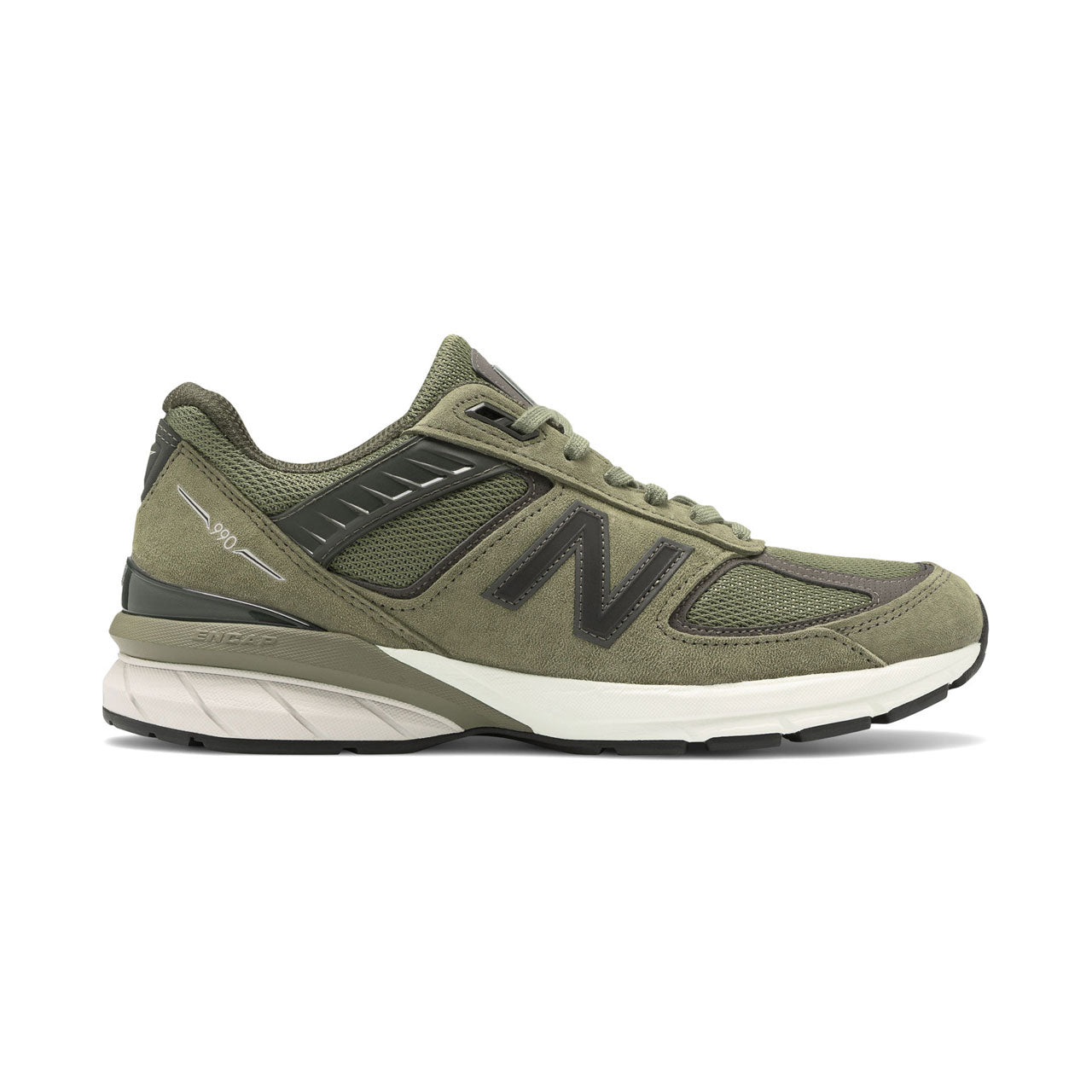 New Balance 990v5 Covert Green Sneakers