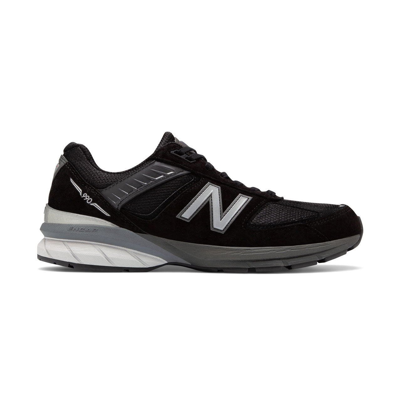New Balance 990v5 Black Tonal Sneakers