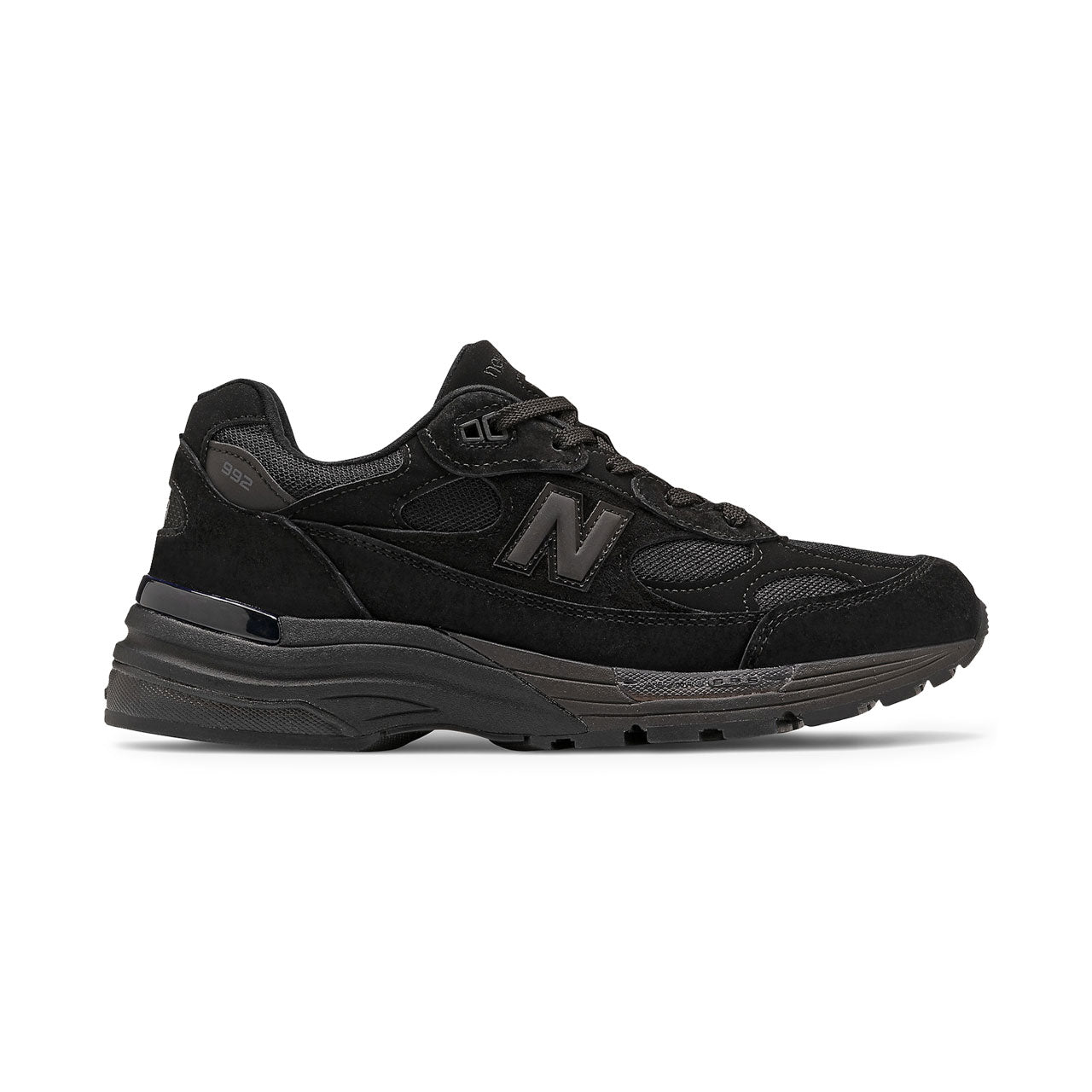 New Balance 992 All-Black Sneakers