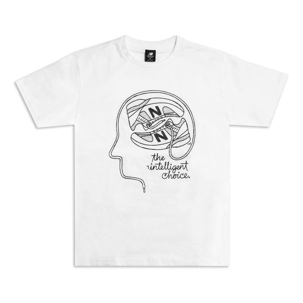 New Balance Shoe Brain Tee