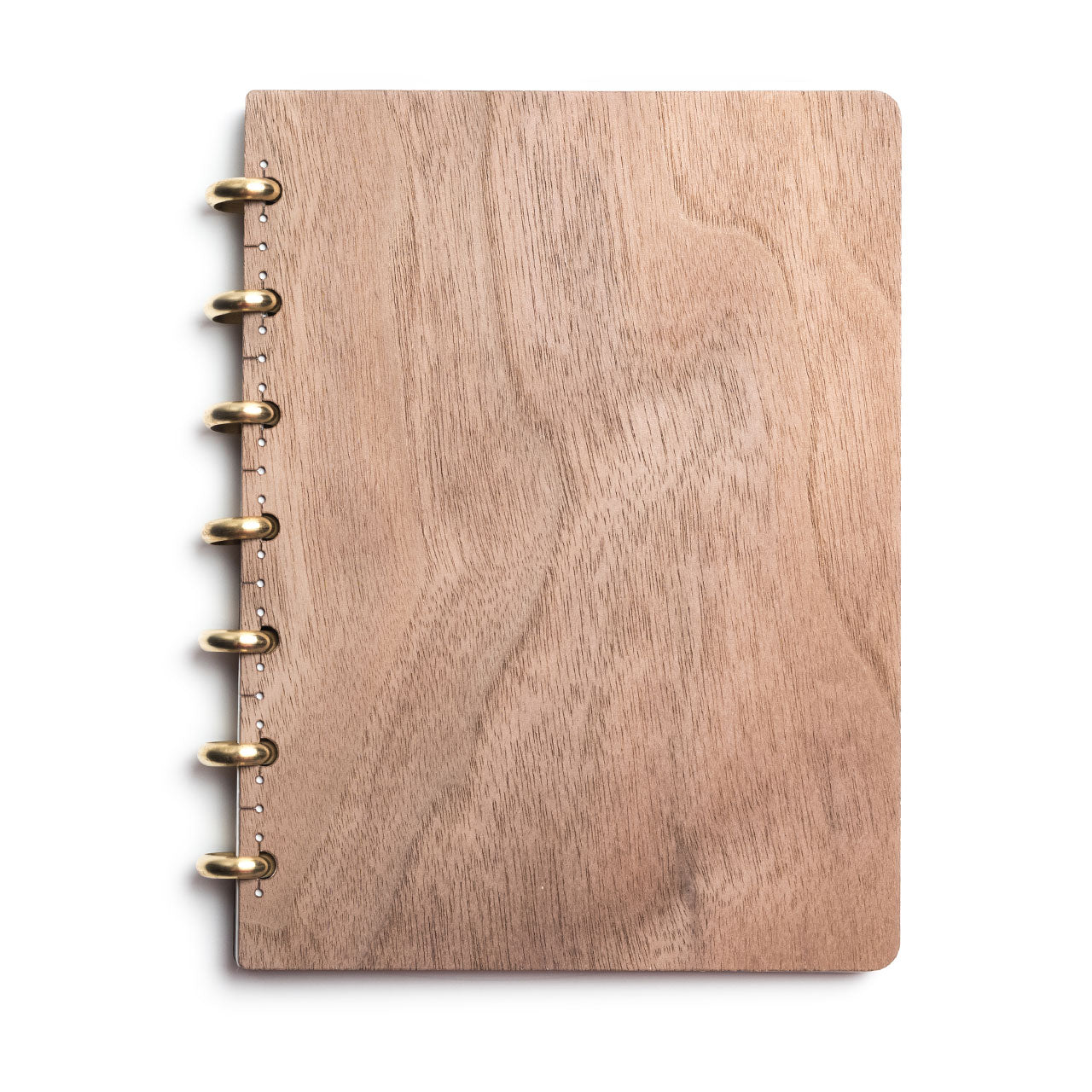 Pacific & West Wood Notebook