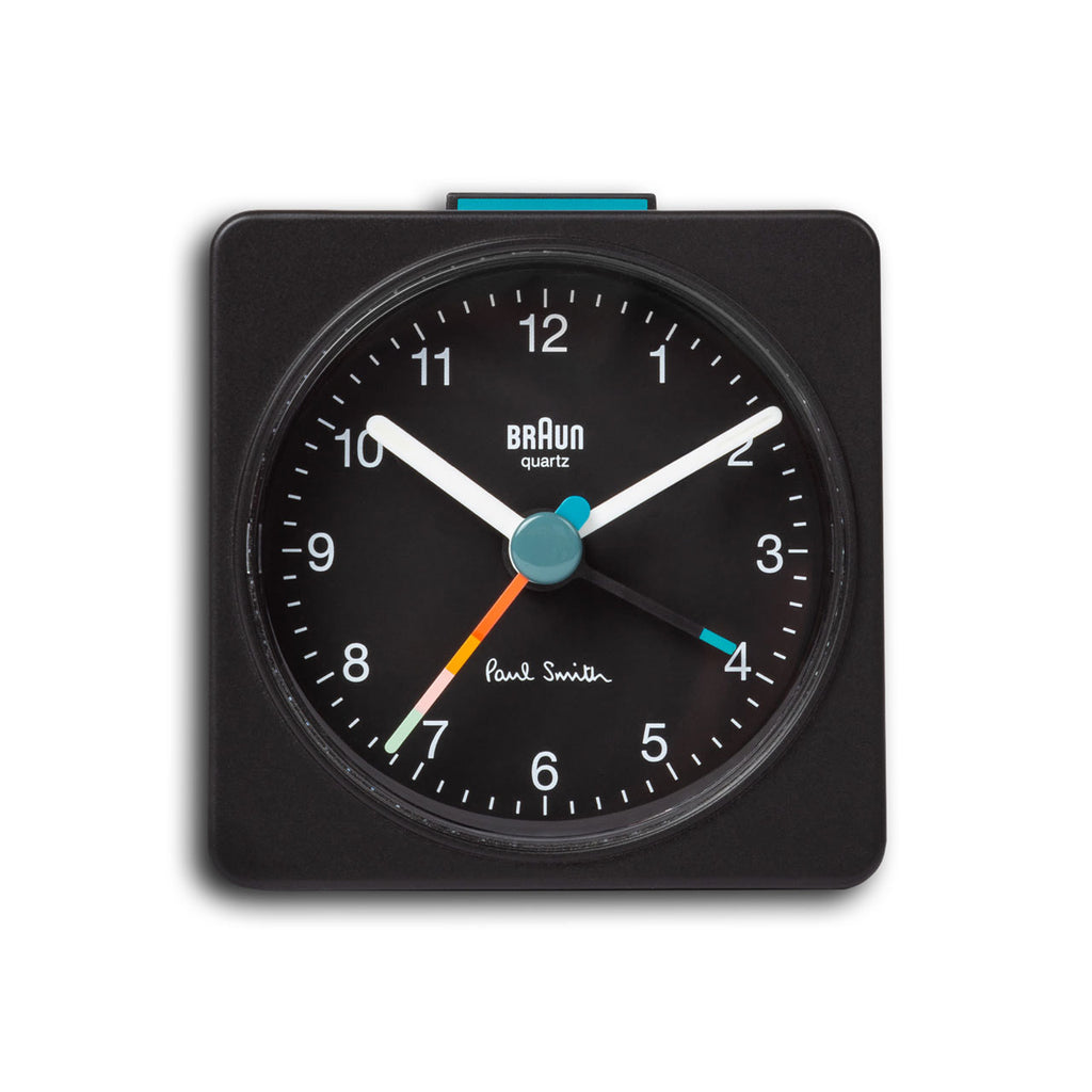 Paul Smith x Braun Travel Alarm Clock