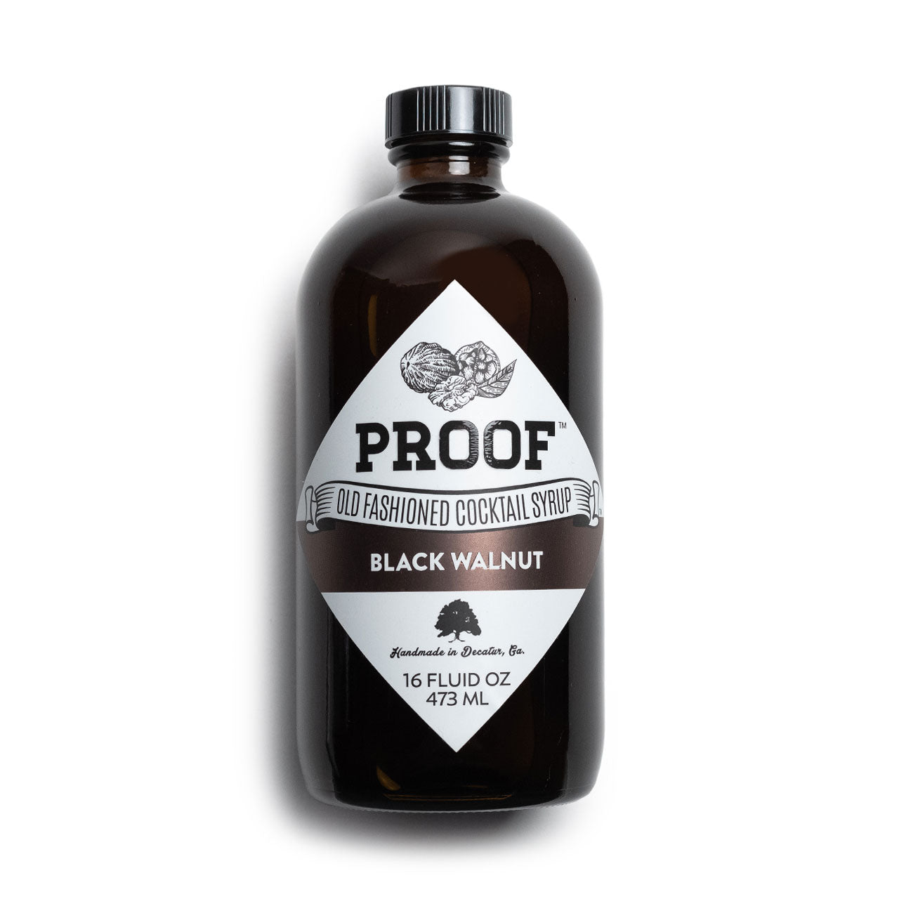 Proof Black Walnut Old Fashioned Cocktail Syrup