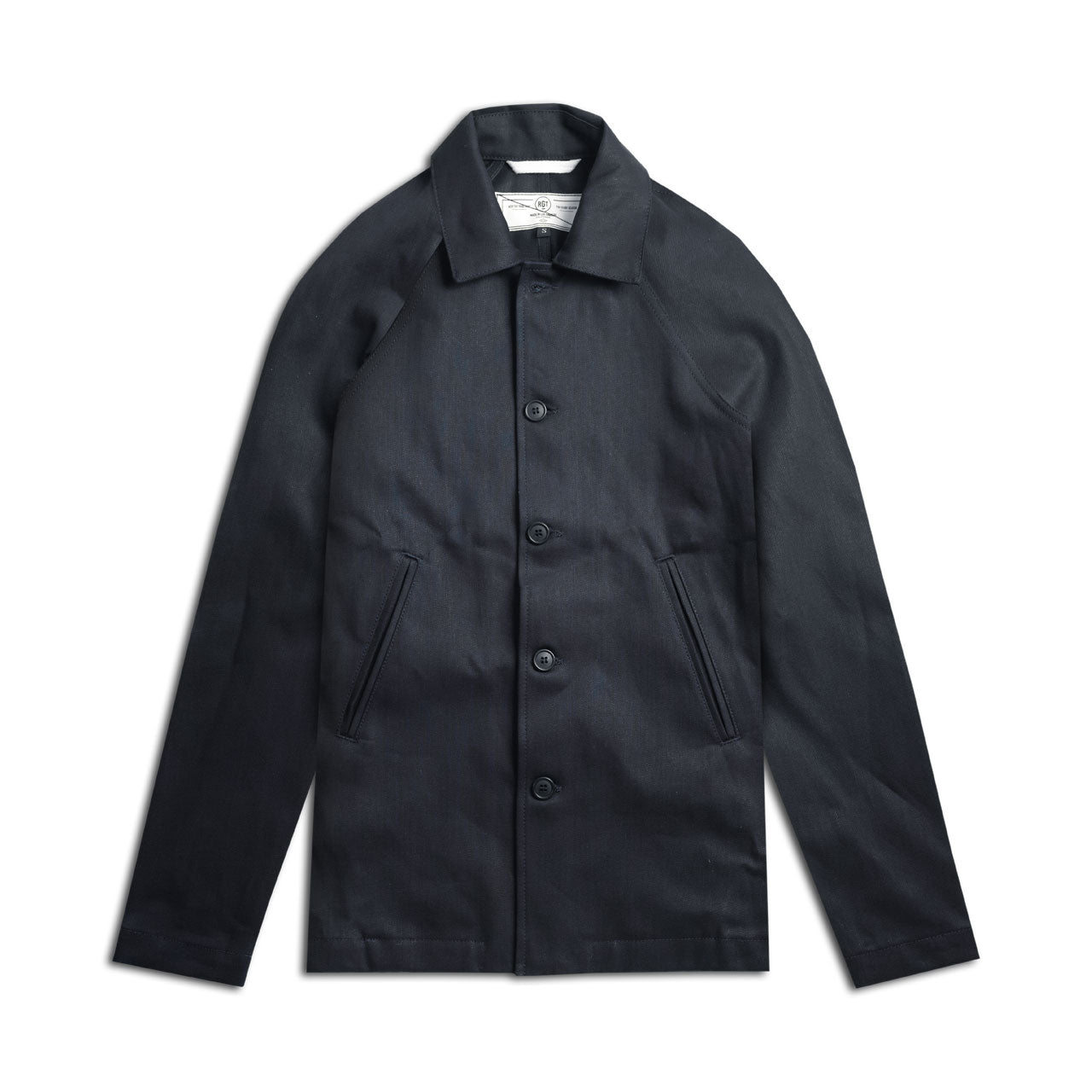 Rogue Territory Denim Peacoat