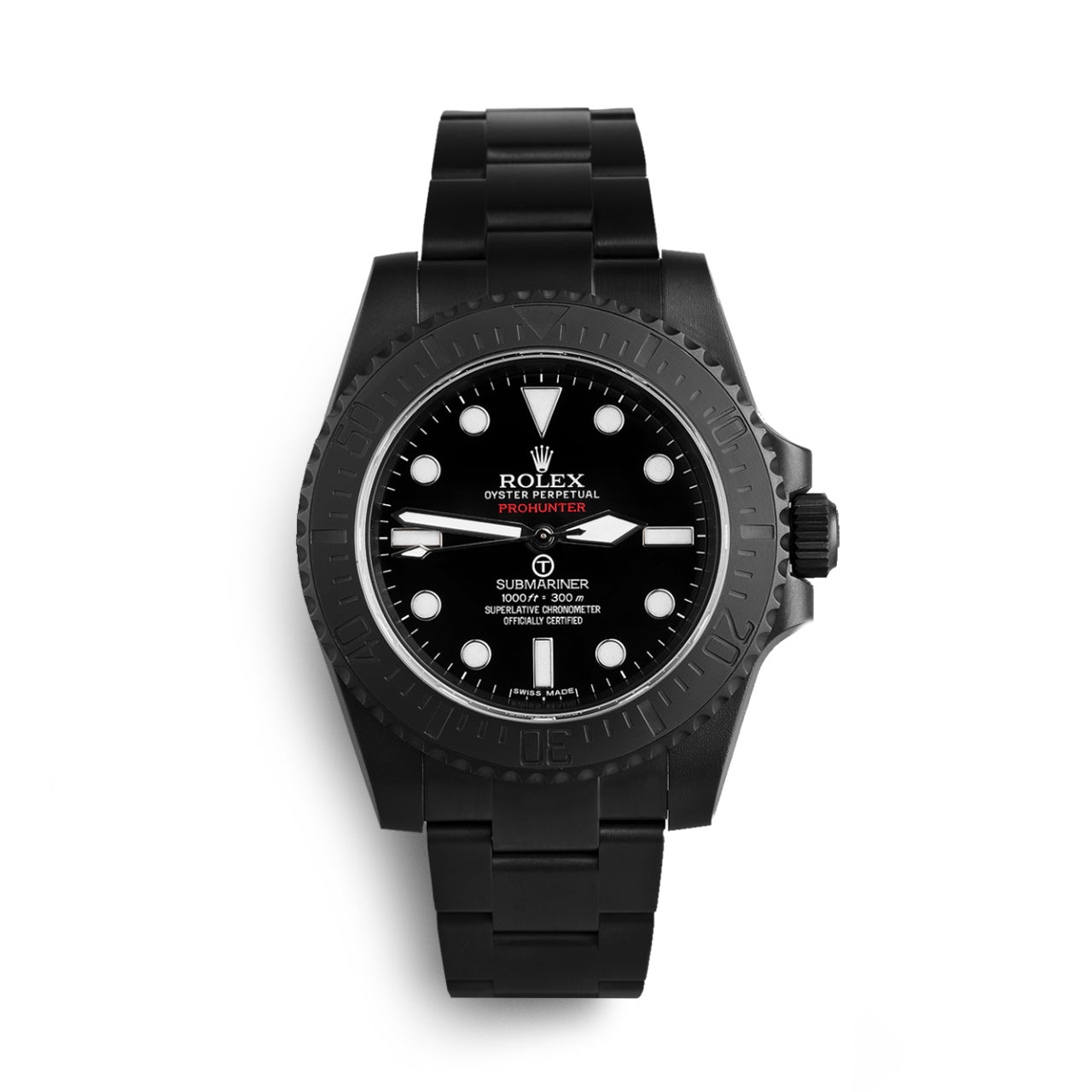 Pro Hunter Submariner Military Stealth Watch