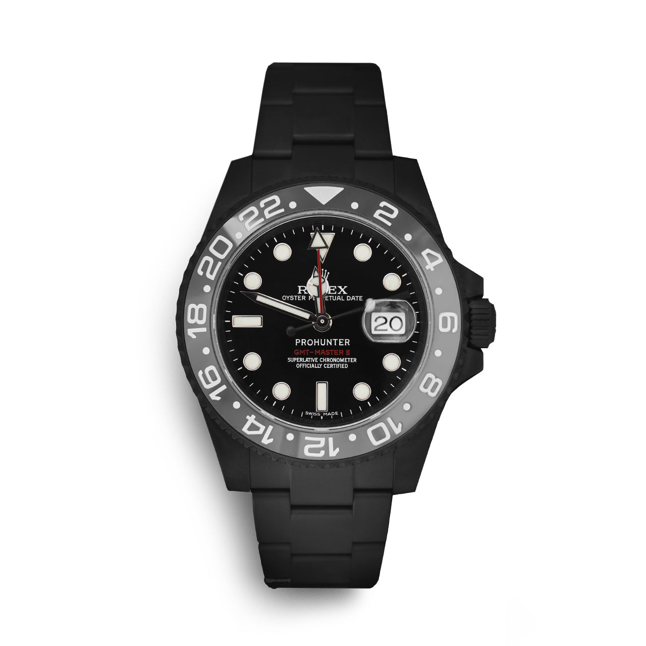 Pro Hunter GMT Master II Stealth Watch