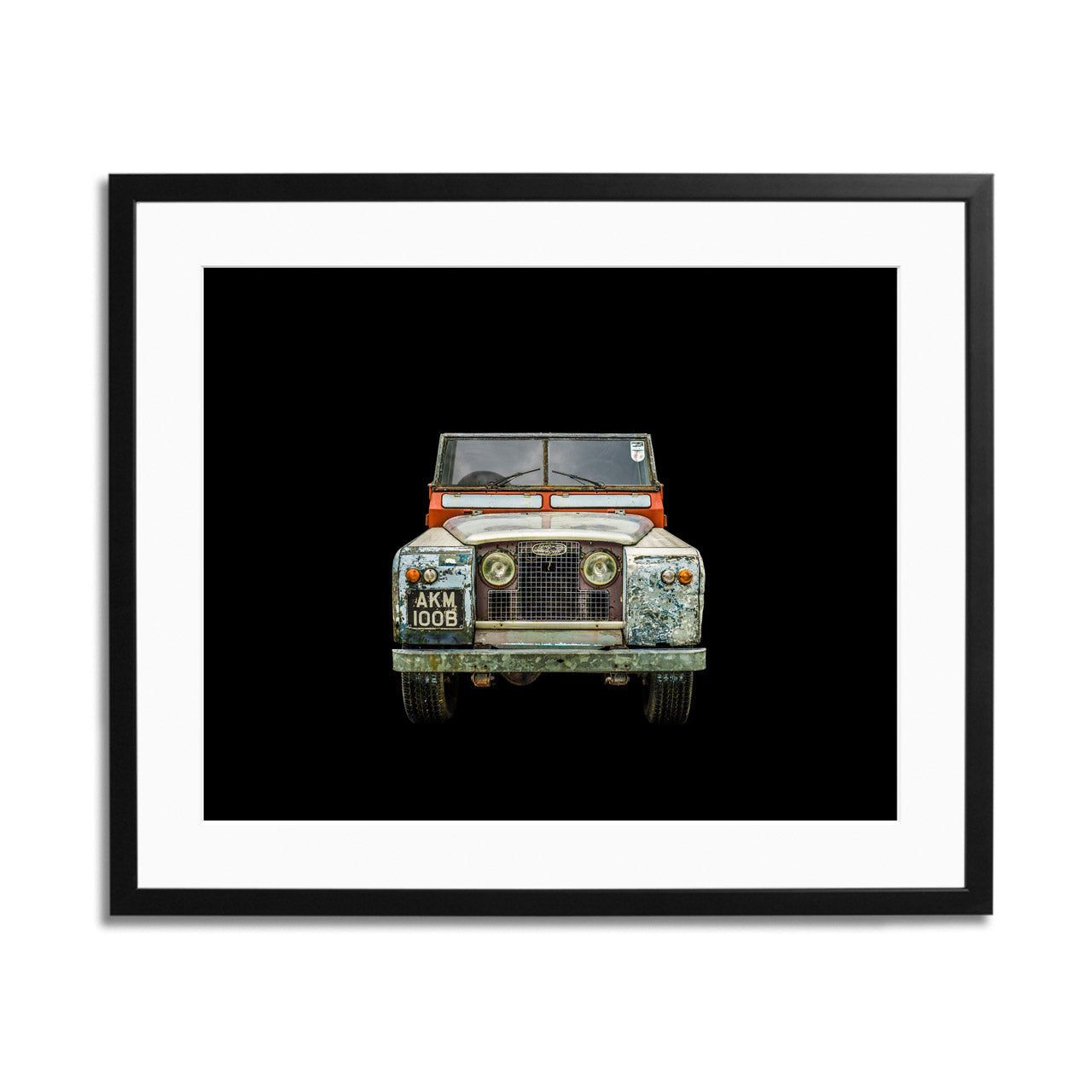 Land Rover Series II A Framed Print