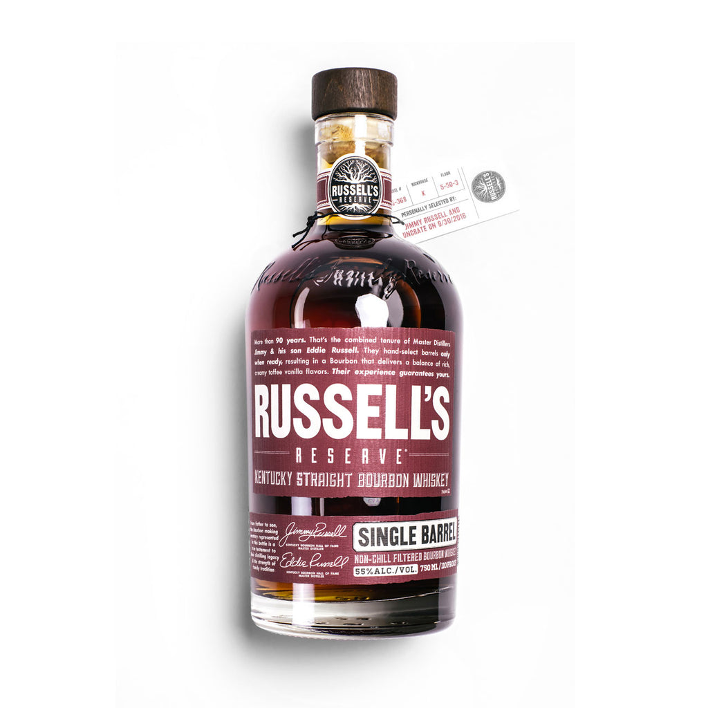 Russell's Reserve x Uncrate Single Barrel Bourbon