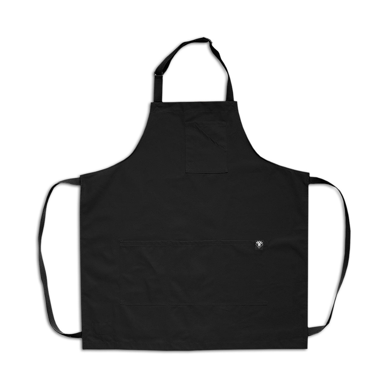 Stock Black Twill Apron
