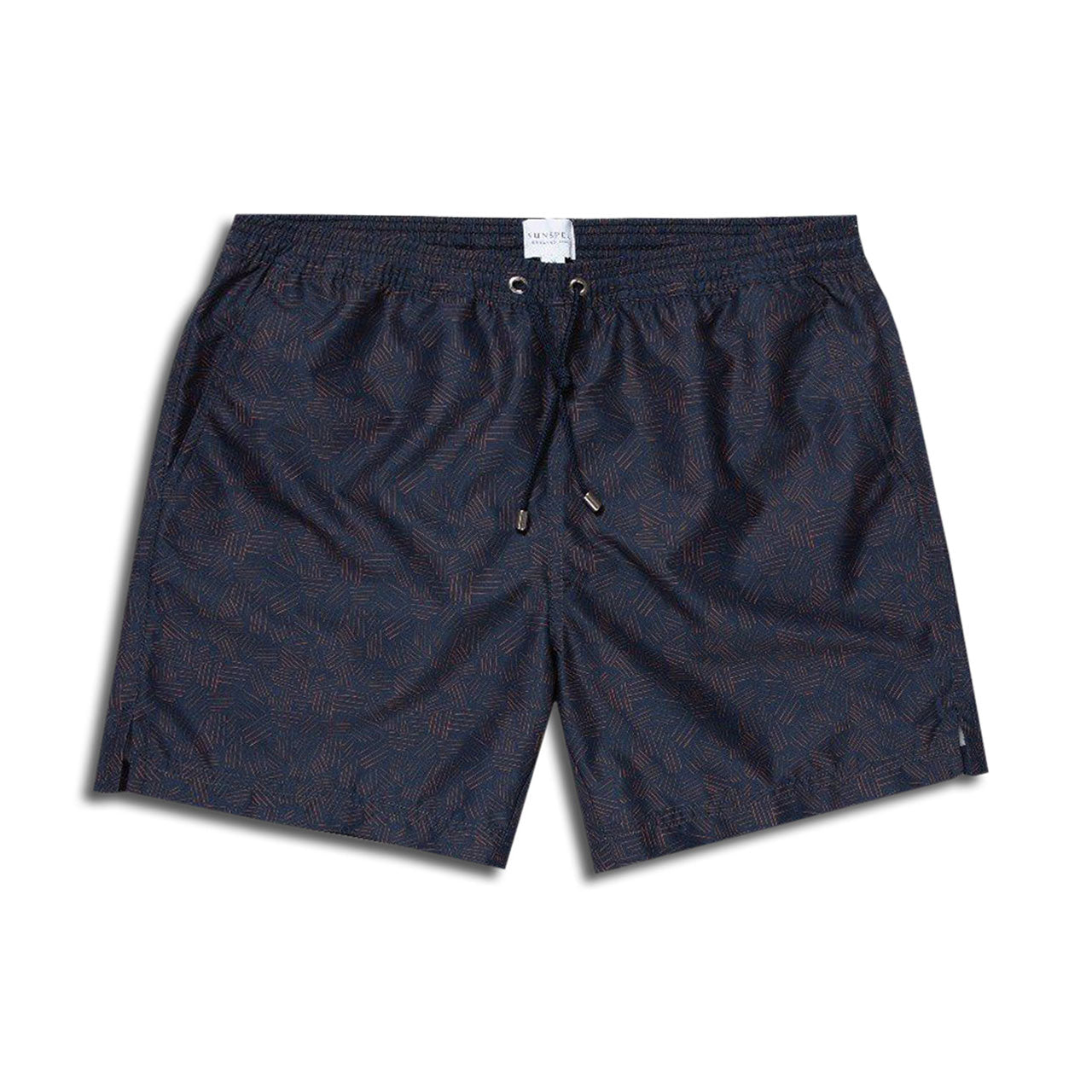Sunspel Crosshatch Swim Trunks