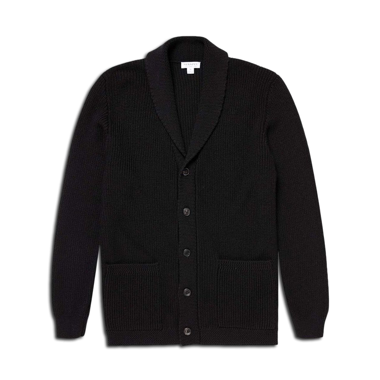 Sunspel x Ian Fleming Shawl Cardigan Sweater